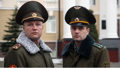 Полковник Денис Федоров и подполковник Сергей Шохов