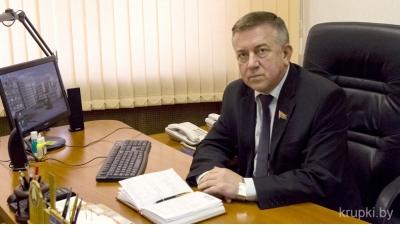 Депутат Палаты представителей по Березинскому избирательному округу № 61, член Постоянной комиссии по национальной безопасности Петр Атрощенко