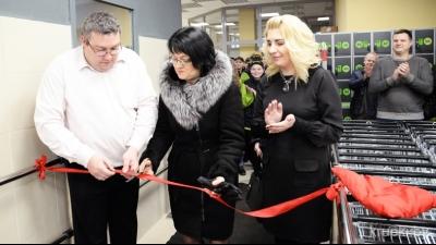 В Крупках состоялось торжественное открытие магазина «Евроопт»