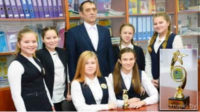 Михаил Рогов и активисты клуба