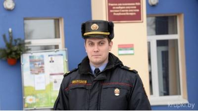 Александр Тараповский, старший сержант милиции