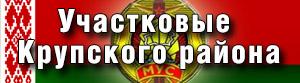 Участковые Крупского района