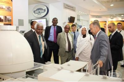 НАН Беларуси посетила делегация Республики Судан