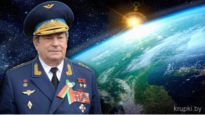3 марта 75-летний юбилей отмечает белорусский космонавт, уроженец Крупского района Владимир Коваленок