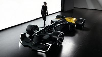Команда Формулы-1 Renault показала болид будущего R.S. 2027 Vision