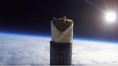 Шаурма в космосе