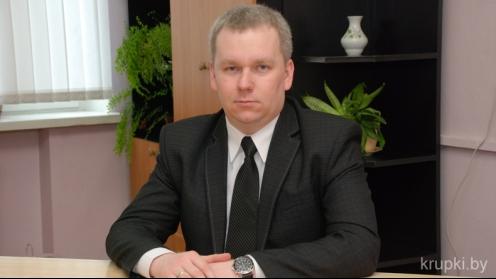 Главный врач Крупской ЦРБ Дмитрий Кулевский