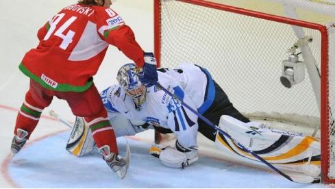 5 мая сборная Беларуси по хоккею проведет свой первый матч на ЧМ-2017